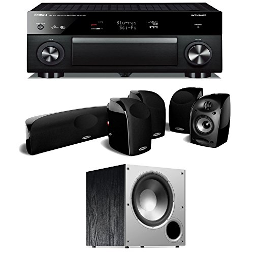 Av receivers amplifiers reviews analysis yamaha rx for Yamaha 7 2 home theatre system