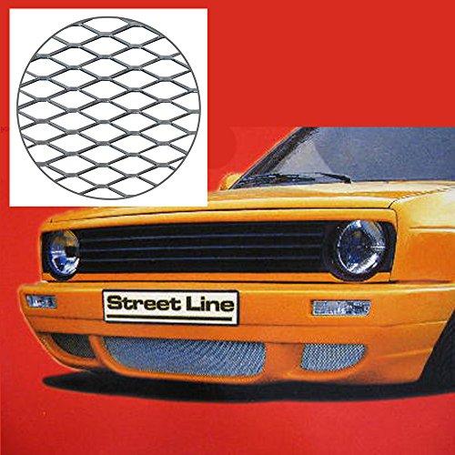 Street Line, Racegitter, Renngitter, 1,20 x 0,30, Mesh, silber, extra dünn
