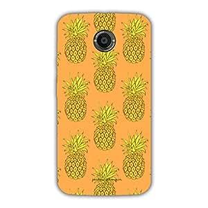 Designer Cute Phone Cases for Moto X2-Pineapple