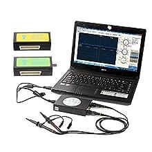 SainSmart DDS140 Portable Handheld PC-Based USB Digital Oscilloscope 40MHz Bandwidth 200MS/s (DDS-140 + Signal Generator + Logic Analyzer)