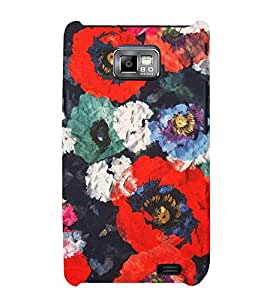 Abstract Painting 3D Hard Polycarbonate Designer Back Case Cover for Samsung Galaxy S2 :: Samsung Galaxy S2 i9100