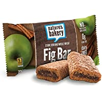 12-Pack Natures Bakery Whole Wheat Fig Bar Apple Cinnamon