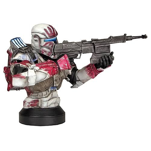 Cheap Star Wars Republic Commando Sev Mini Bust Feature