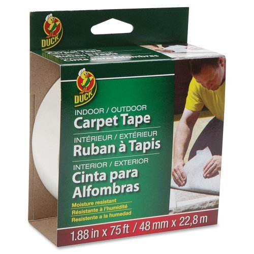 duck-indoor-outdoor-double-sided-carpet-tape-188quot-width-x-75-ft-length-fiberglass-adhesive-perman