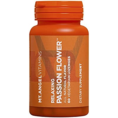 Relaxing Passion Flower Promotes Relaxation 60 Lozenge