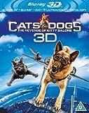 Cats and Dogs 2 (Blu-ray 3D + Blu-ray + DVD + UV Copy) [Region Free]