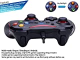 ZD-N-Vibration-Feedback-USB-Wired-Gamepad-Controller-Joystick-Support-PCWindows-XP788110-PS3-Android-Xbox-360-architecture-BlackRed