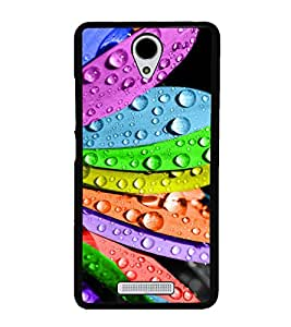 Multicolour Flower 2D Hard Polycarbonate Designer Back Case Cover for Xiaomi Redmi Note 2 :: Redmi Note 2 Prime