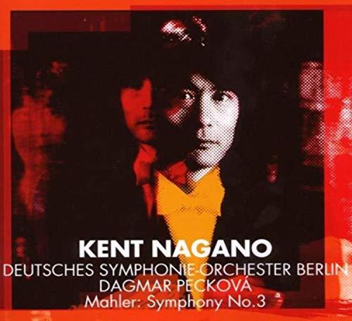 CD : MAHLER / PECKOVA / BERLIN GEMRAN SYM ORCH / NAGANO - Mahler: Sym No 3 (2 Discos)