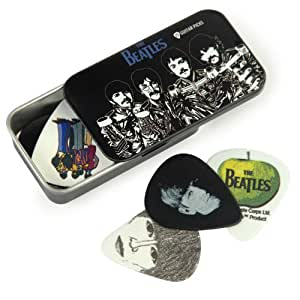 planet waves beatles signature guitar pick tins sgt peppers musical instruments. Black Bedroom Furniture Sets. Home Design Ideas