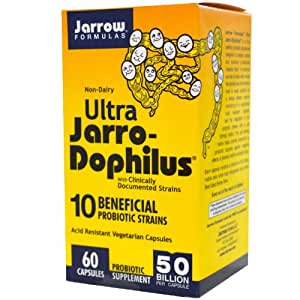 Amazon Com Jarrow Formulas Ultra Jarro Dophilus 50