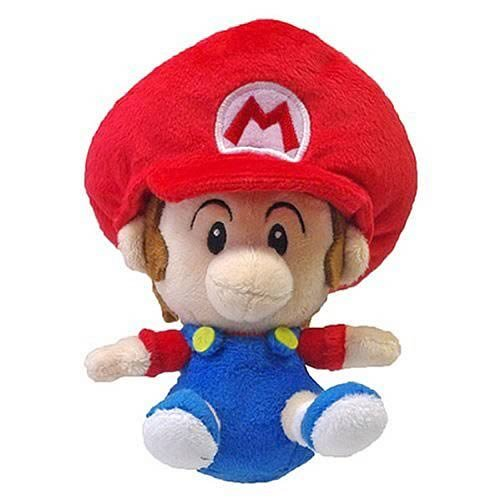 "Little Buddy Toys Super Mario Plush-5"" Baby Mario"
