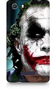 Amez designer printed 3d premium high quality back case cover for Micromax Unite 3 (The Joker)