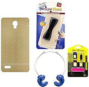 Mify Mobile Accessories Combo for Xiaomi Redmi Note, Golden