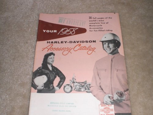 1958 Harley-davidson Accessory Catalog (Harley Accessory Catalog compare prices)
