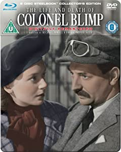 The Life and Death of Colonel Blimp - Restoration Edition Steelbook (Blu-ray + DVD) [1943]