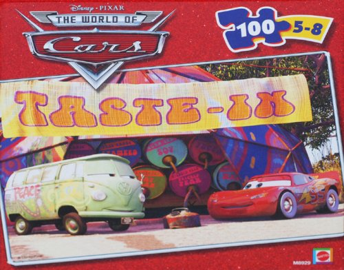 Cars McQueen and Filmore Puzzle 100 piece
