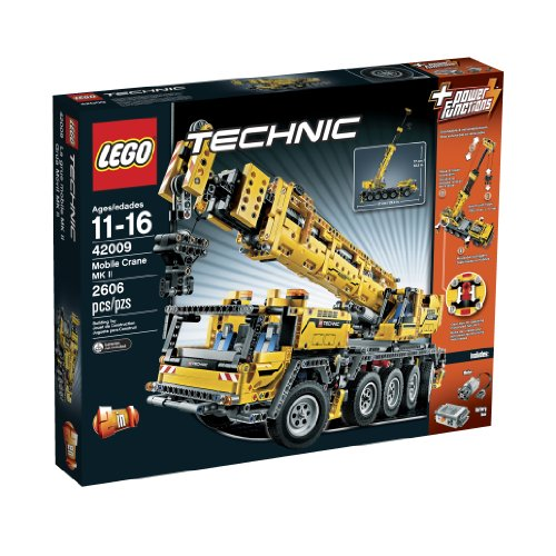 LEGO乐高 Technic 42009 Mobile Crane MK II 移动起重机
