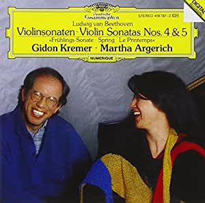 Beethoven: Violin Sonatas Nos. 4 & 5