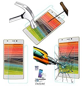 Acm Tempered Glass Screenguard For Gionee Elife S5.5 Mobile Screen Guard Scratch Protector