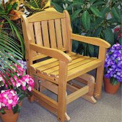 Garden Chair Glider Unfinished front-88419