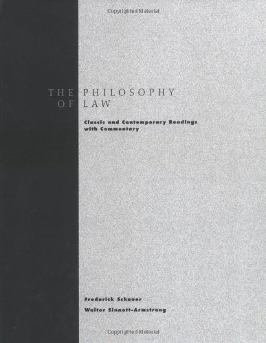 Philosophy of Law: Classic and Contemporary Readings with...