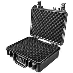 Loaded Gear HD-200 Hard Case, Black, Medium by BARSKA