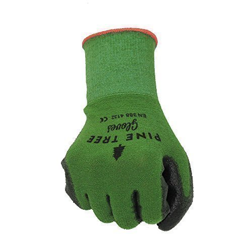 51aszV D8gL - BEST BUY #1 Bamboo Work & Gardening Gloves for Women & Men, Best Protective Second Skin Working Glove in Small, Medium, Large and XL (Small)