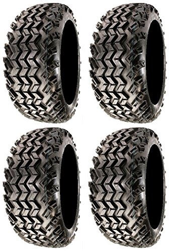Full set of Sahara Classic 22x11-10 (4ply) Golf Cart Tires (4) (22x11x10 Golf Cart Tires compare prices)
