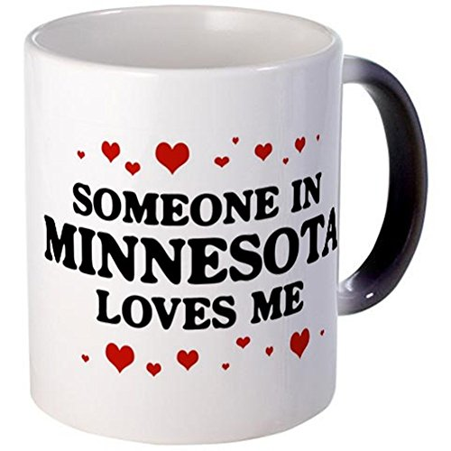 CafePress - Loves Me In Minnesota - Unique Coffee Mug, 11oz Coffee Cup (Minnesota Cup compare prices)