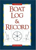 img - for Boat Log & Record book / textbook / text book