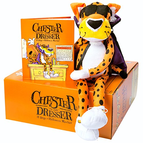 cheetos-chester-on-the-dresser-halloween-book-with-chester-cheetah-stuffed-animal