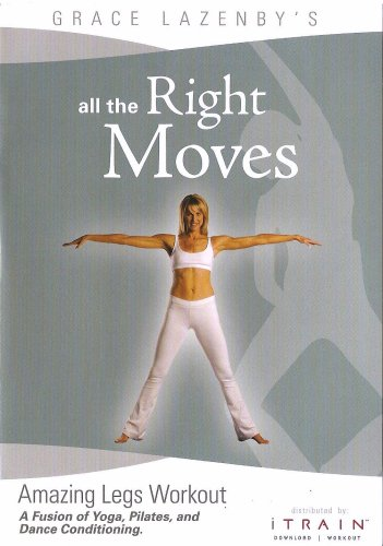 All the Right Moves (ATRM) - Amazing Legs Workout (Grace Lazenby) [2008 г., фитнес, DVDRip, ENG] (Видеоурок)