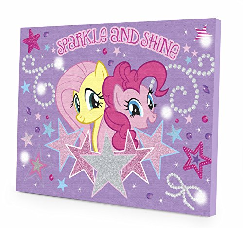 My Little Pony Canvas LED Wall Art - 1