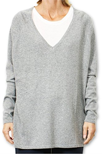 School Rag Pelvie, Felpa Donna, Grigio (Grey Heather), 40