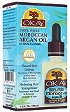 Okay 100% Pure Oil For Skin And Hair - Natutal Argan 1 oz. (Pack of 2)