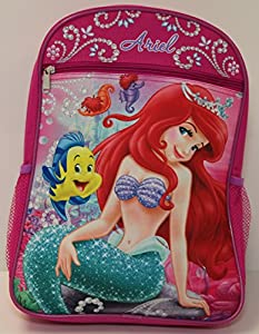 "Ariel The Little Mermaid 15"" Backpack by Disney"