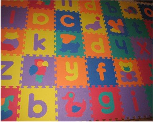 Cheap SoftnSafe EVA Foam Alphabet(lowercase) & Animal Mat (B001KYKEXI)