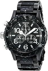 Nixon Mens A0372185 42-20 Chrono Analog Display Japanese Quartz Multi-Color Watch