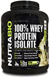 NutraBio 100% Whey Protein Isolate - 5 pounds Vanilla - NO Soy, NO Whey Concentrate, NO Amino Acid Spiking just 100% Pure WPI.
