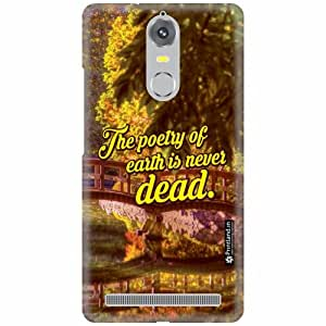 Printland Back Cover For Lenovo K5 note - Dead End Designer Cases