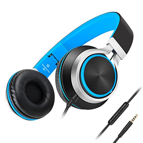 Ailihen C8 Lightweight Foldable Headphones with Microphone