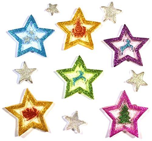Gel gems v2tss08e00 outlook stelle colorate decorazioni for Decorazioni autoadesive