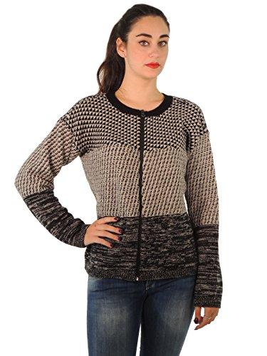 weekend-max-mara-maglia-donna-in-lana-53660853-l-nero-beige