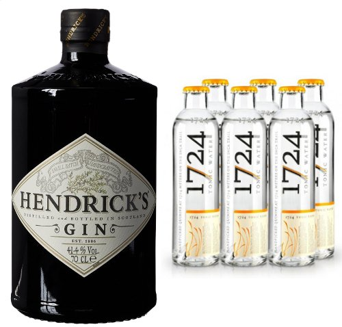 Hendricks Gin 70cl & 6 x Tonic Water 200ml