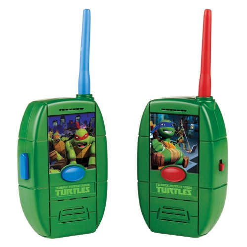 Teenage Mutant Ninja Turtles Shell Walkie Talkie (Tmnt Ninjas In Training compare prices)
