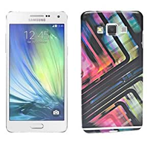 ECellStreet Exclusive Silicon Printed Soft Back Case Cover Back Cover For Samsung Galaxy A7 SM-A700- Colourful Design 1