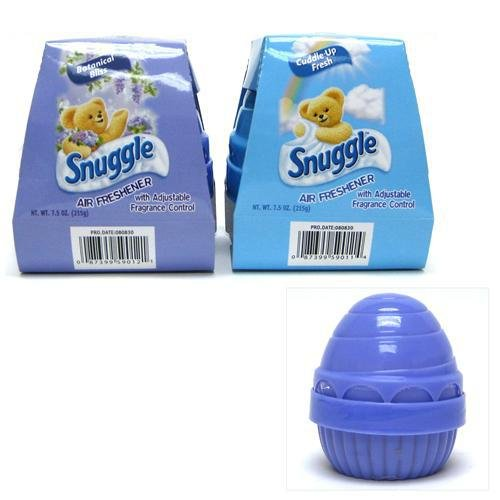Image of Snuggle Dome Air Freshener Assortment - Case Pack 48 SKU-PAS634512 (B005DK2TEM)