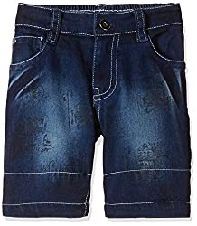 Seals Boys' Shorts (AM8142_1_NAVY_8)