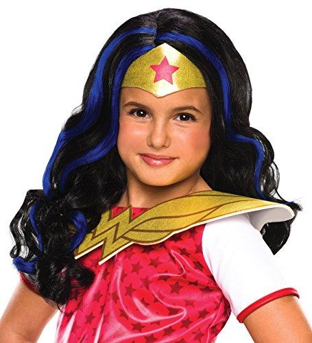 Rubie's Costume Girls DC Super Hero Wonder Woman Wig